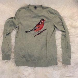 bird sweater.